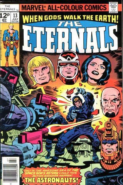 Cover for The Eternals (Marvel, 1976 series) #13 [35 cent cover price variant]