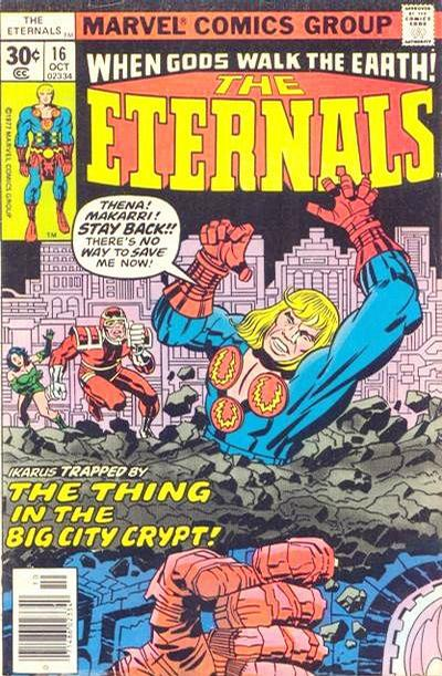 Cover for The Eternals (Marvel, 1976 series) #16 [30 cent cover price]