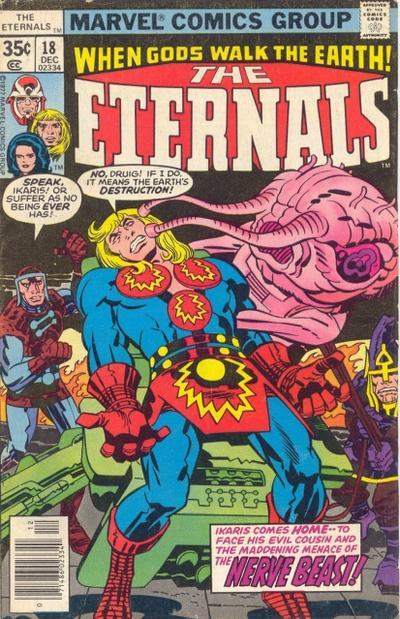 Cover for The Eternals (Marvel, 1976 series) #18 [Regular Edition]