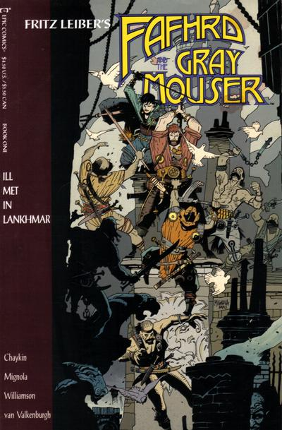 Cover for Fafhrd and the Gray Mouser (1990 series) #1