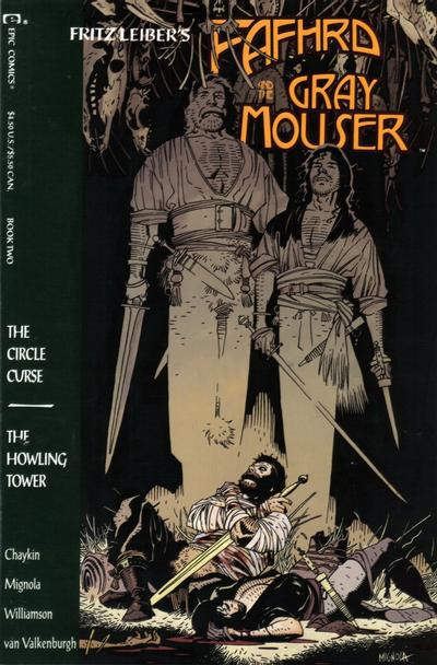 Cover for Fafhrd and the Gray Mouser (1990 series) #2