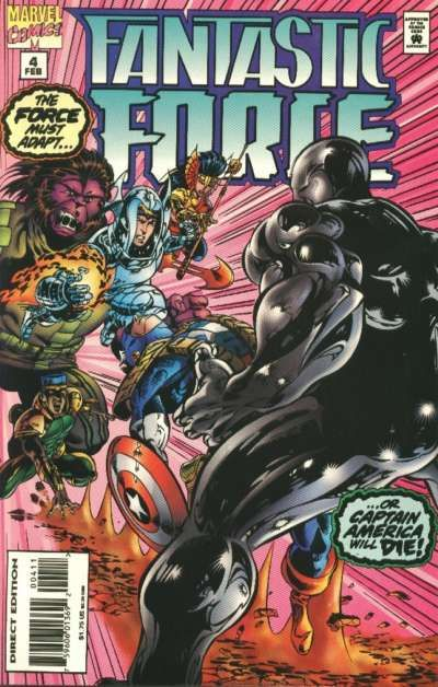 Cover for Fantastic Force (Marvel, 1994 series) #4