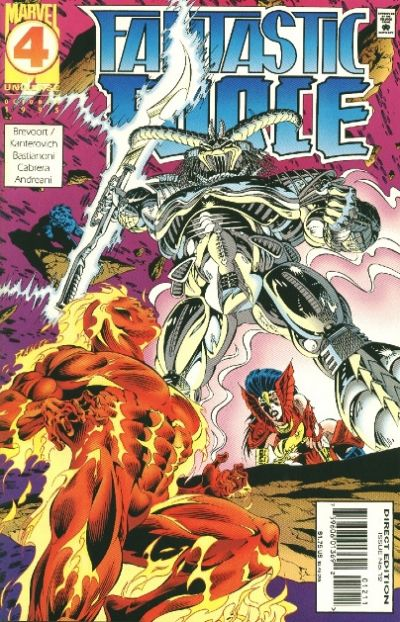 Cover for Fantastic Force (Marvel, 1994 series) #12