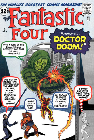 Cover for Fantastic Four (Marvel, 1961 series) #5