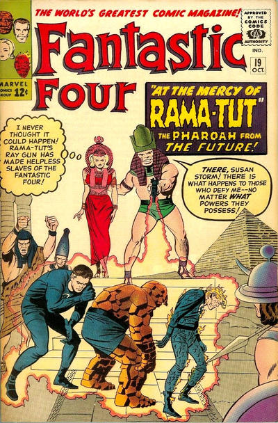 Cover for Fantastic Four (Marvel, 1961 series) #19