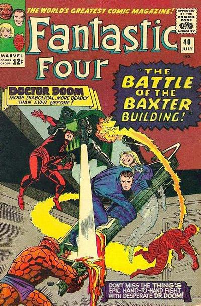 Cover for Fantastic Four (1961 series) #40