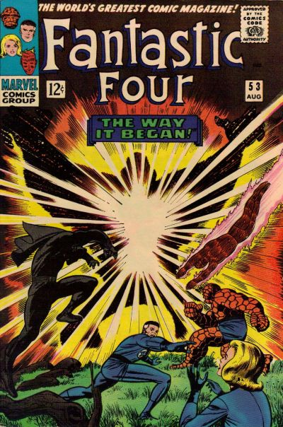 Cover for Fantastic Four (Marvel, 1961 series) #53