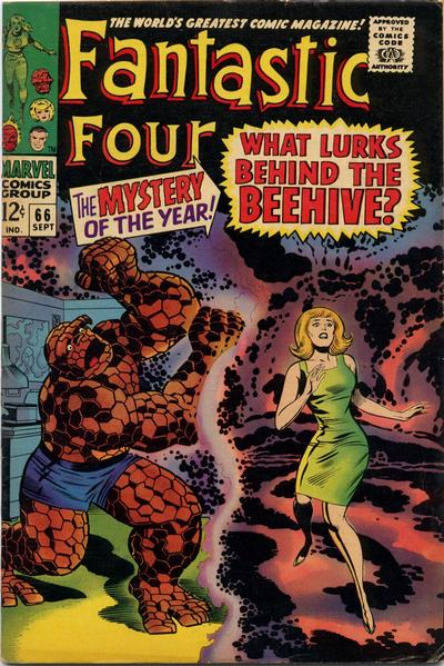 Cover for Fantastic Four (Marvel, 1961 series) #66