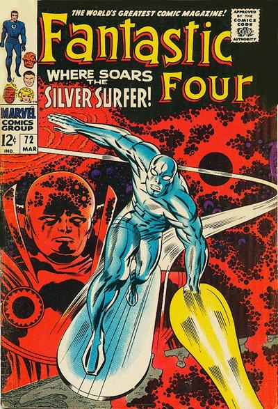 Cover for Fantastic Four (Marvel, 1961 series) #72