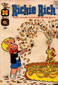 Cover Thumbnail for Richie Rich (Harvey, 1960 series) #19