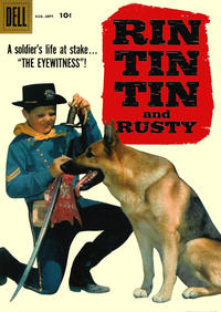 Cover Thumbnail for Rin Tin Tin and Rusty (Dell, 1957 series) #26