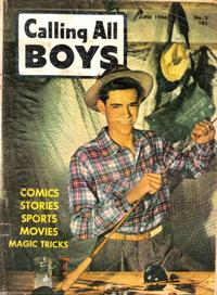 Cover Thumbnail for Calling All Boys (Parents' Magazine Press, 1946 series) #5