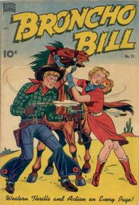 Cover Thumbnail for Broncho Bill (Better Publications of Canada, 1948 series) #11