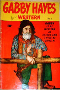Cover Thumbnail for Gabby Hayes Western (Anglo-American Publishing Company Limited, 1949 series) #2