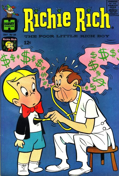 Cover for Richie Rich (1960 series) #24