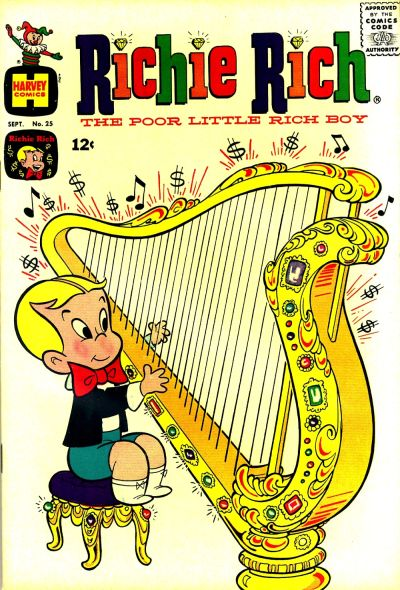 Cover for Richie Rich (1960 series) #25