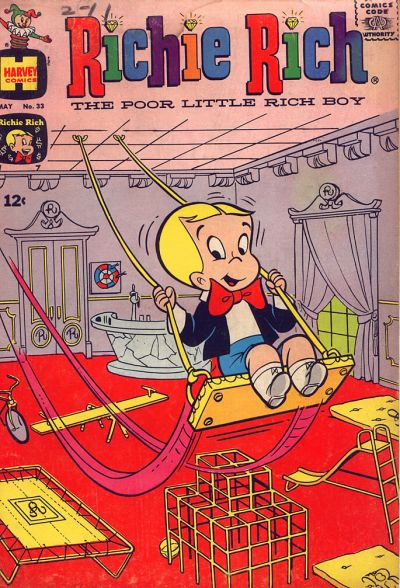 Cover for Richie Rich (Harvey, 1960 series) #33