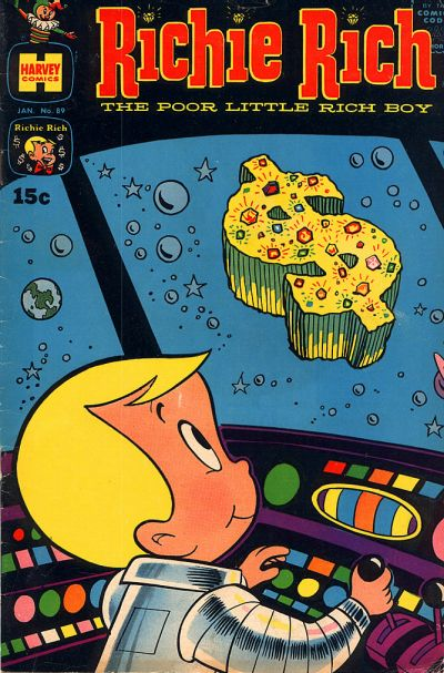 Cover for Richie Rich (1960 series) #89