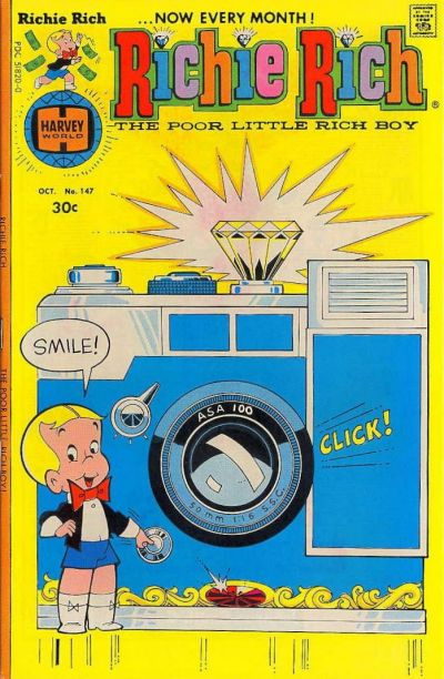 Cover for Richie Rich (Harvey, 1960 series) #147