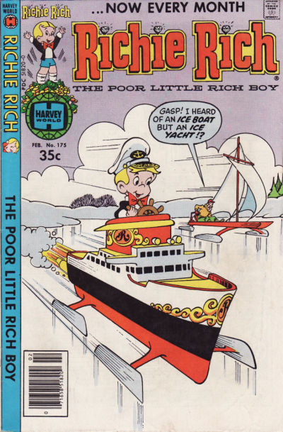 Cover for Richie Rich (Harvey, 1960 series) #175
