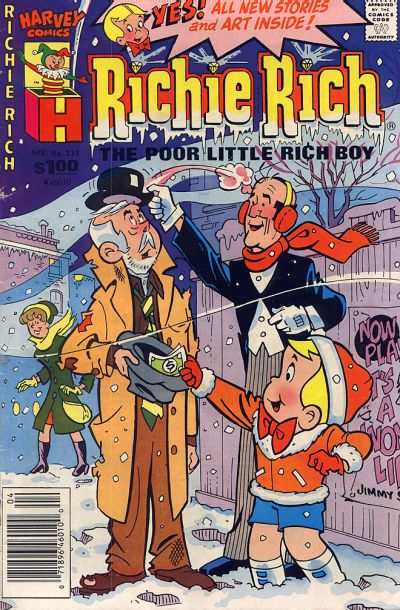 Cover for Richie Rich (Harvey, 1960 series) #233