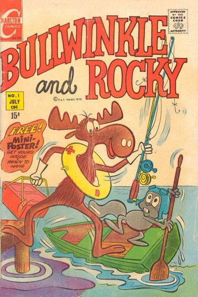 Cover for Bullwinkle and Rocky (1970 series) #1
