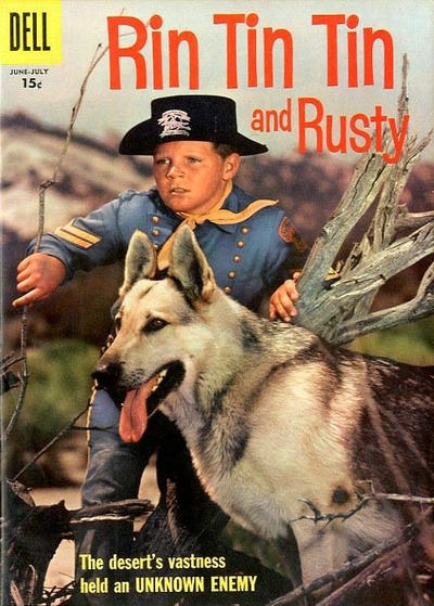 Cover for Rin Tin Tin (Dell, 1954 series) #19 [10¢ edition]