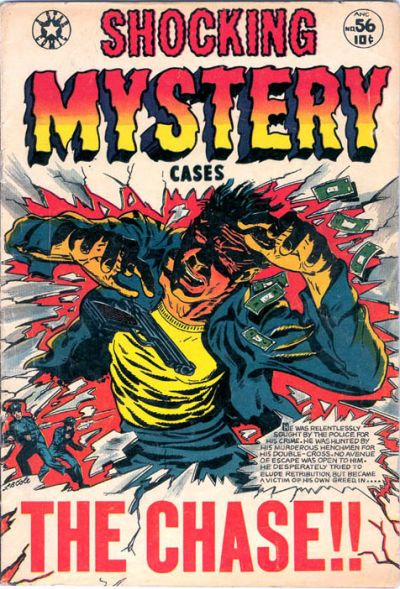 Cover for Shocking Mystery Cases (Star Publications, 1952 series) #56