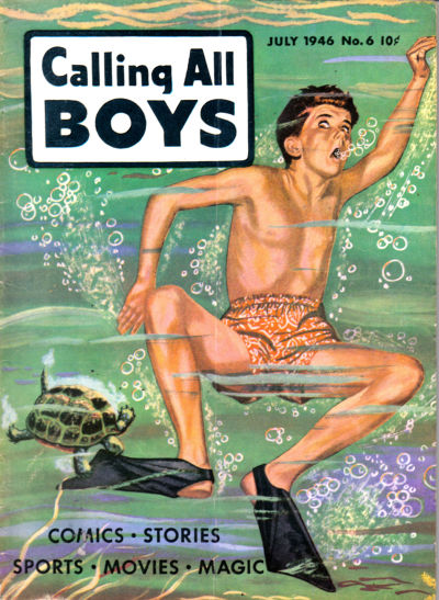 Cover for Calling All Boys (Parents' Magazine Press, 1946 series) #6