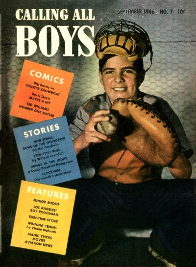 Cover for Calling All Boys (Parents' Magazine Press, 1946 series) #7