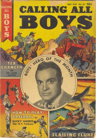 Cover for Calling All Boys (1946 series) #12