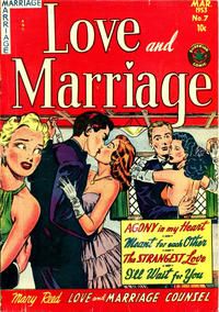 Cover for Love and Marriage (Superior Publishers Limited, 1952 series) #7