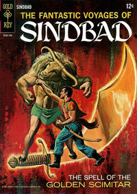 Cover for The Fantastic Voyages of Sindbad (1965 series) #2