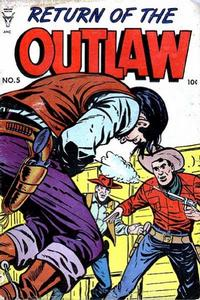Cover Thumbnail for Return of the Outlaw (Toby, 1953 series) #5