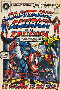 Cover Thumbnail for Capitaine America (Editions Héritage, 1970 series) #14