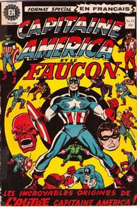 Cover Thumbnail for Capitaine America (Editions Héritage, 1970 series) #15