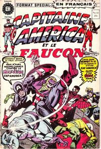 Cover Thumbnail for Capitaine America (Editions Héritage, 1970 series) #41