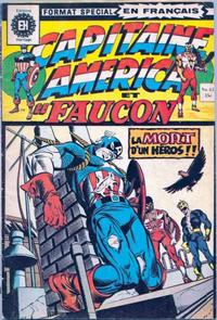 Cover Thumbnail for Capitaine America (Editions Héritage, 1970 series) #43