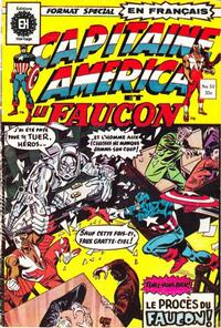 Cover Thumbnail for Capitaine America (Editions Héritage, 1970 series) #51