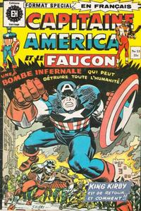 Cover Thumbnail for Capitaine America (Editions Héritage, 1970 series) #53
