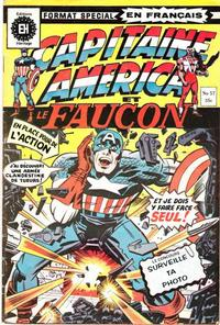 Cover Thumbnail for Capitaine America (Editions Hritage, 1970 series) #57