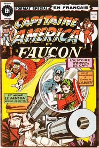 Cover Thumbnail for Capitaine America (Editions Héritage, 1970 series) #58