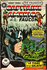 Cover Thumbnail for Capitaine America (Editions Héritage, 1970 series) #67