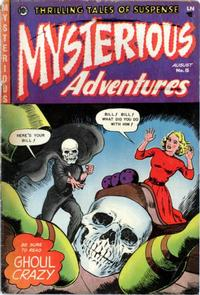 Cover Thumbnail for Mysterious Adventures (Story Comics, 1951 series) #15