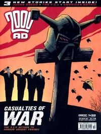 Cover Thumbnail for 2000 AD (Rebellion, 2001 series) #1432