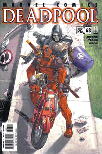 Cover for Deadpool (Marvel, 1997 series) #68 [Direct Edition]
