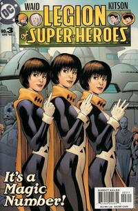 Cover Thumbnail for Legion of Super-Heroes (DC, 2005 series) #3