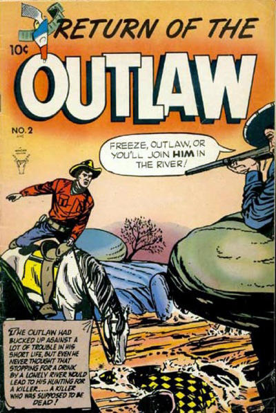 Cover for Return of the Outlaw (Toby, 1953 series) #2