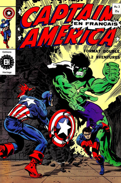 Cover for Capitaine America (Editions Héritage, 1970 series) #3