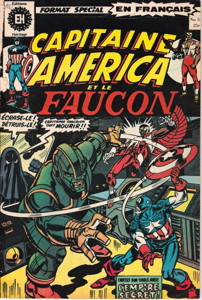 Cover for Capitaine America (Editions Héritage, 1970 series) #34